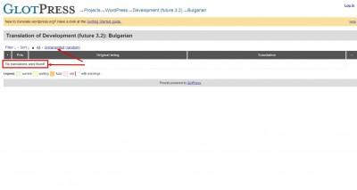 WordPress 3.2 преведен на български на 100%