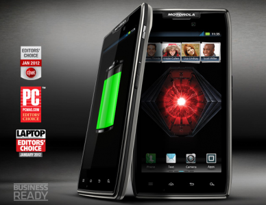 Motorola RAZR MAXX Banner